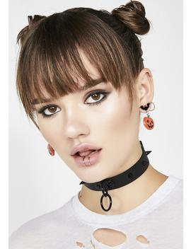 All Hallow's Eve Jack O Lantern Earrings by Fame Accessories