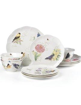 Lenox Butterfly Meadow Flutter 12 Piece Dinnerware Set, Service For 4 & Reviews by Lenox