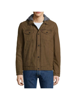 Levi's® Cotton Commuter Trucker Jacket by Levi