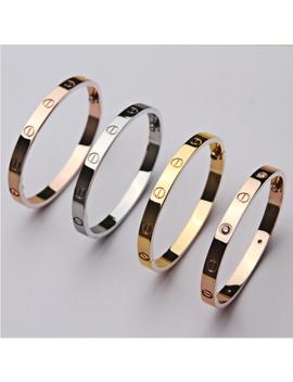 Men Women Stainless Steel Fashion Love Screw Screwdriver Bangle Bracelet by Unbranded