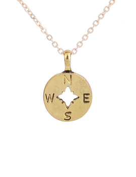 Letter Detail Pendant Necklace by Romwe
