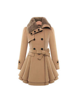 Womens Winter Slim Fit Puffer Trench Coat Jacket Tops Thick Overcoat Outerwear by Unbranded