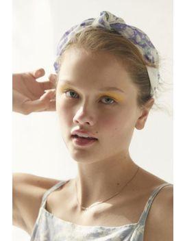 Laura Ashley & Uo Top Knot Headband by Laura Ashley