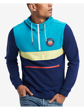 Men's Climber Hooded Sweatshirt, Created For Macy's by Tommy Hilfiger