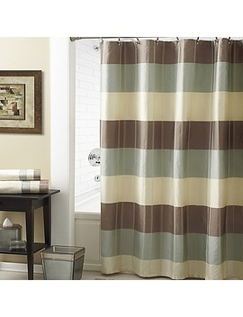 Croscill® Fairfax Shower Curtain In Taupe by Bed Bath And Beyond