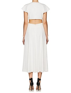 Crepe Midi Dress by Derek Lam 10 Crosby