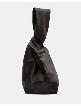 Small Urban Bucket Bag In Satin by Theory