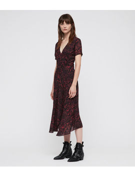 Seeta Rosey Dress by Allsaints