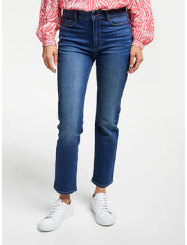 Paige Hoxton Straight Leg Cropped Jeans, Dixon by Paige
