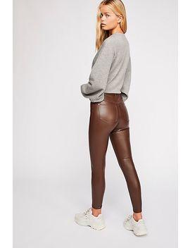 Vegan Long & Lean Trousers by Free People