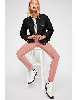 Cord Skinny Trousers by Free People