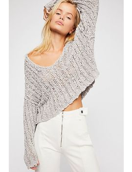 Beach Comber V Neck Jumper by Free People