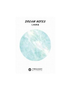 Natural Dream Series Self Adhesive Memo Pad Sticky Notes Bookmark School Office Supply by House Of Novelty