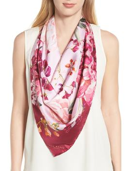 Serenity Square Silk Scarf by Ted Baker London