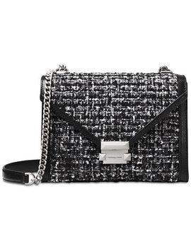 Whitney Tweed Shoulder Bag by Michael Michael Kors