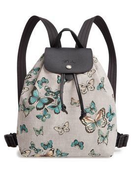 Le Pliage Butterfly Print Backpack by Longchamp