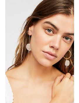 Collete Asymmetrical Earrings by Free People