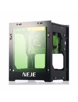 Desktop 1000mw Mini Laser Engraving Marking Machine Logo Printer Wood Engraver by Neje