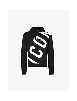 Icon Cotton Jersey Hoody by Dsquared2