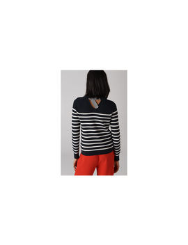 Stripe D Ring Back Knit by Whistles