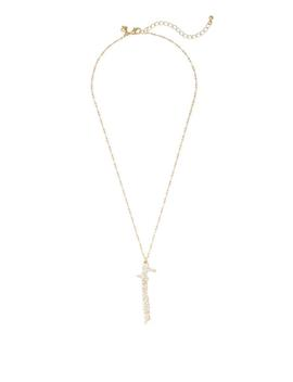"""Superwomen"" Pendant Necklace by Rebecca Minkoff"