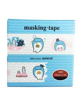 Japanese Style Lovely Whale Washi Tape Adhesive Tape Diy Scrapbooking Sticker Label Masking Tape by House Of Novelty