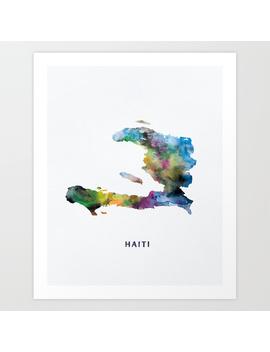 Haiti Art Print by