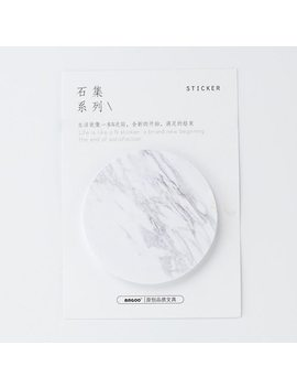 The Vast Stars Stone Self Adhesive Memo Pad Sticky Notes Bookmark School Office Supply by House Of Novelty