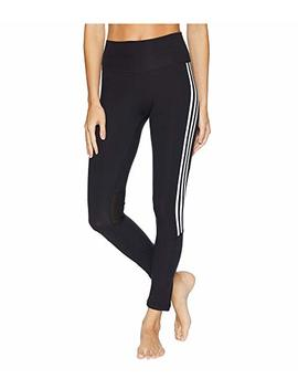 Believe This High Rise 3 Stripes 7/8 Tights by Adidas