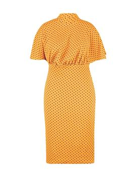 Plus Polka Dot Midi Dress by Boohoo