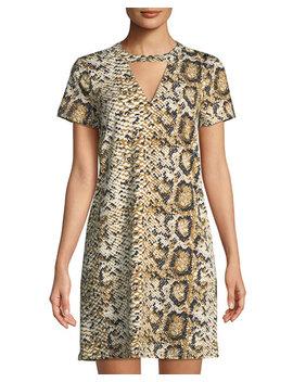 Danica Short Sleeve Dress by Julie Brown