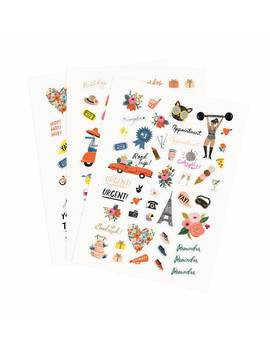 Planner Stickers by Rifle Paper Co.