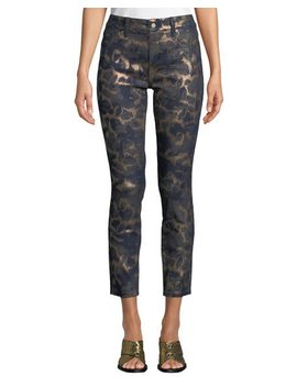 Ami Animal Print Skinny Ankle Pants by Nydj