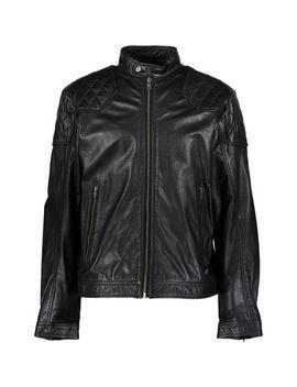 Black Leather Jacket by Diesel