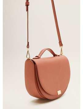 Τσάντα σταυρωτή καπάκι by Mango