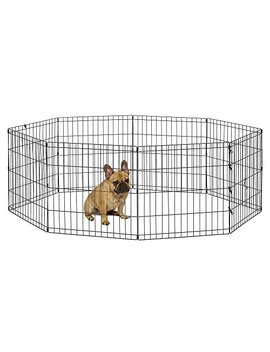 New World Pet Products Foldable Metal Exercise Pen & Pet Playpen by New World Pet Products