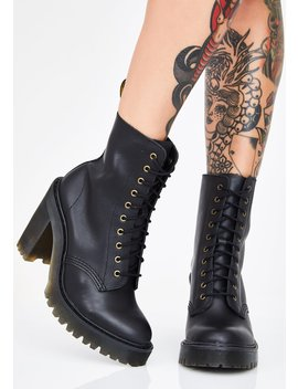 Onyx Kendra Boots by Dr Martens