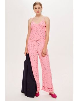 Sugar Spotted Trousers by Topshop