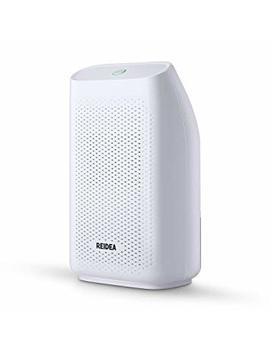 Reidea 700ml Dehumidifier, Portable Air Dehumidifier, Damp, Moisture And Mould Removing For Bedroom Bathroom Office Kitchen Basement Garage, Black And White by Reidea