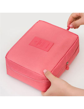 Womens Travel Cosmetic Makeup Bag Toiletry Case Storage Pouch Wash Organizer by Ebay Seller