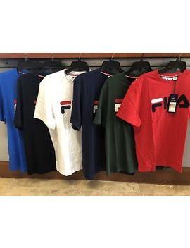 Fila Logo T Shirt Short Sleeve For Men. Lm173218 by Fila