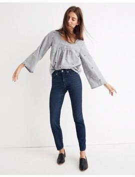 Rivet & Thread Slim Straight Jeans In Richardson Wash by Madewell