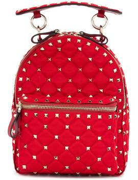 Valentino Valentino Garavani Rockstud Spike Backpackhome Women Valentino Bags Backpacks by Valentino