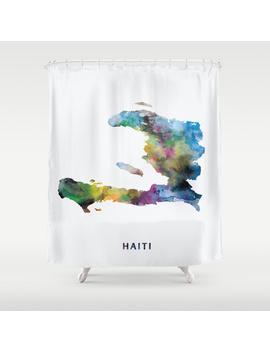 Haiti Shower Curtain by