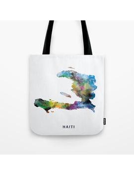 Haiti Tote Bag by