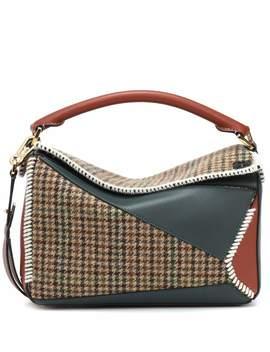 Puzzle Tweed Shoulder Bag by Loewe