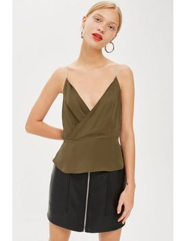 Diamante Strap Cami Top by Topshop
