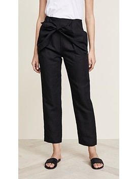 Overlap Knot Pants by Frame