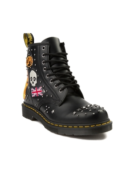 Dr. Martens 1460 8 Eye Rockabilly Boot by Dr. Martens