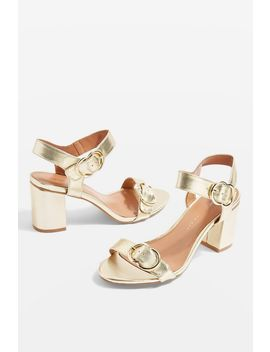 **Wide Fit Samba Two Part Sandals by Topshop